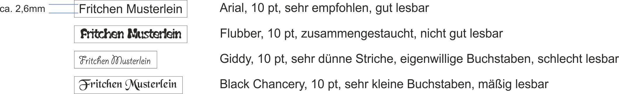 Tips-Schriften